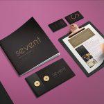 Identité visuelle Agence Sevent