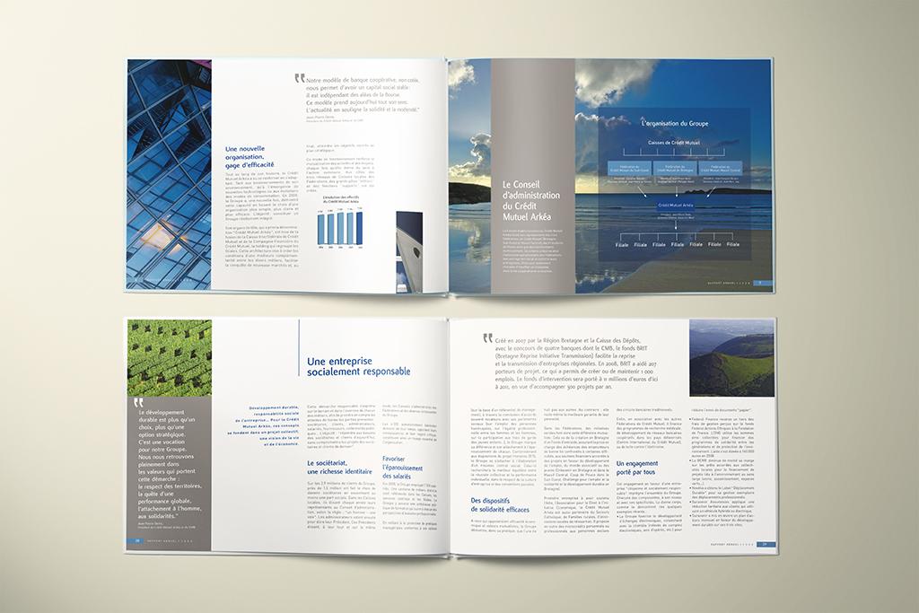 Rapport annuel Crédit Mutuel Arkéa