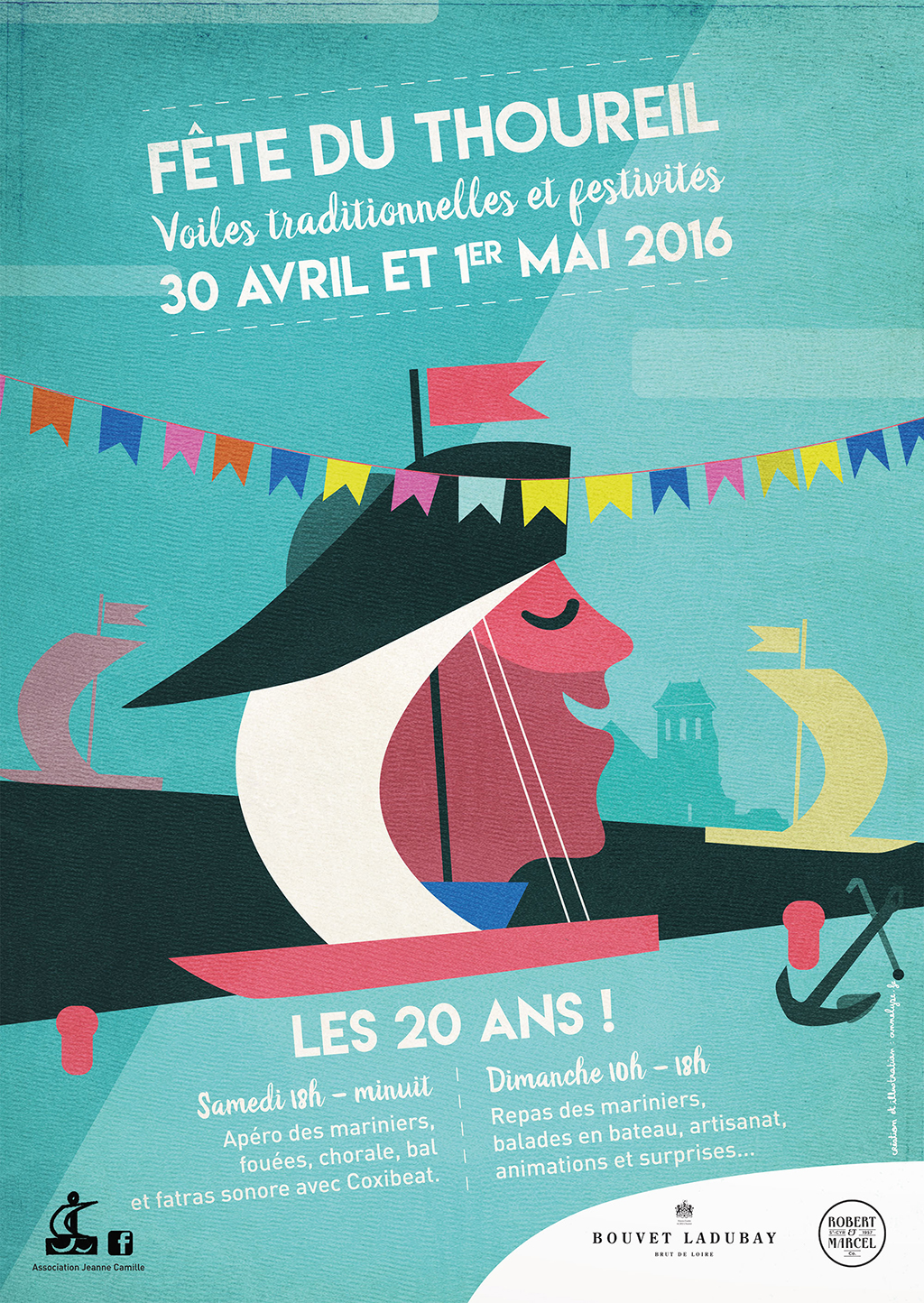 Communication fête du Thoureil 2016 et 2017