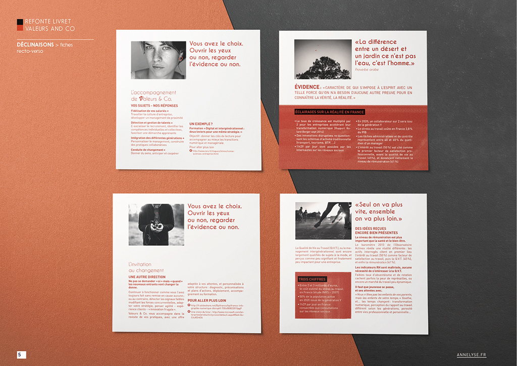 Brochure Valeurs and Co