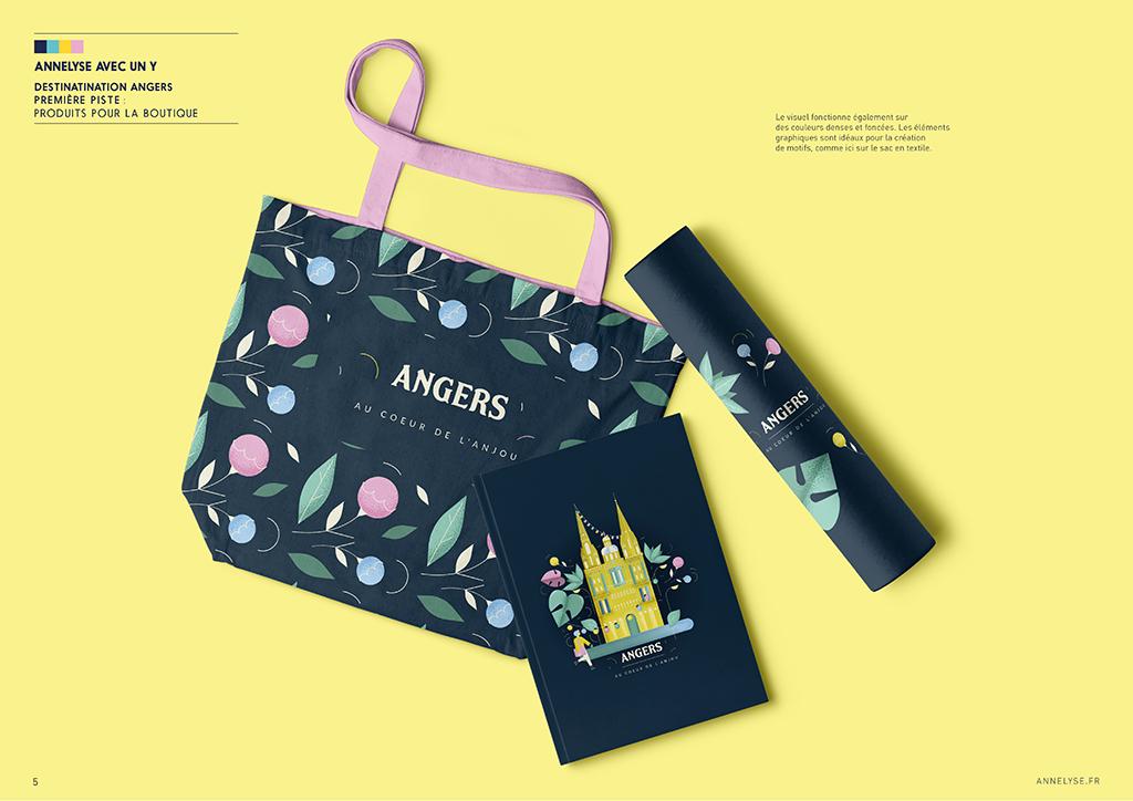 Produits pour la boutique Destination Angers